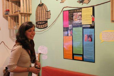 Ausstellung zu Bekleidung im Nähcafe Innsbruck Tirol