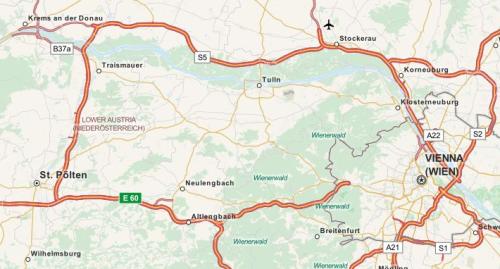 Neulengbach_Karte