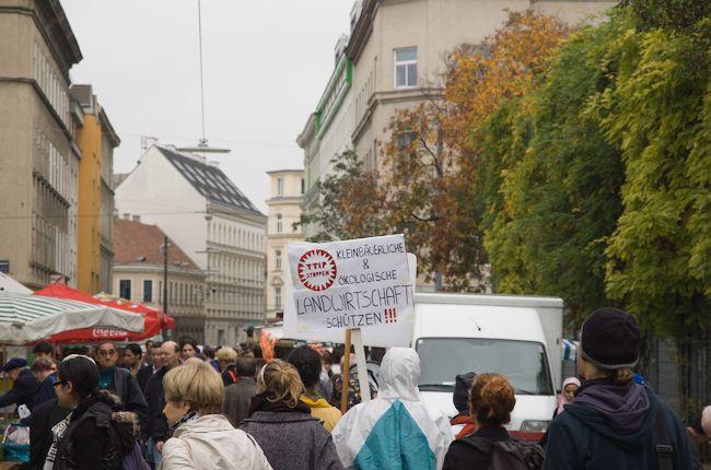 Südwind Aktion - Für hohe Lebensmittel und Gesundheitsstandards - Gegen TTIP, CETA und TISA