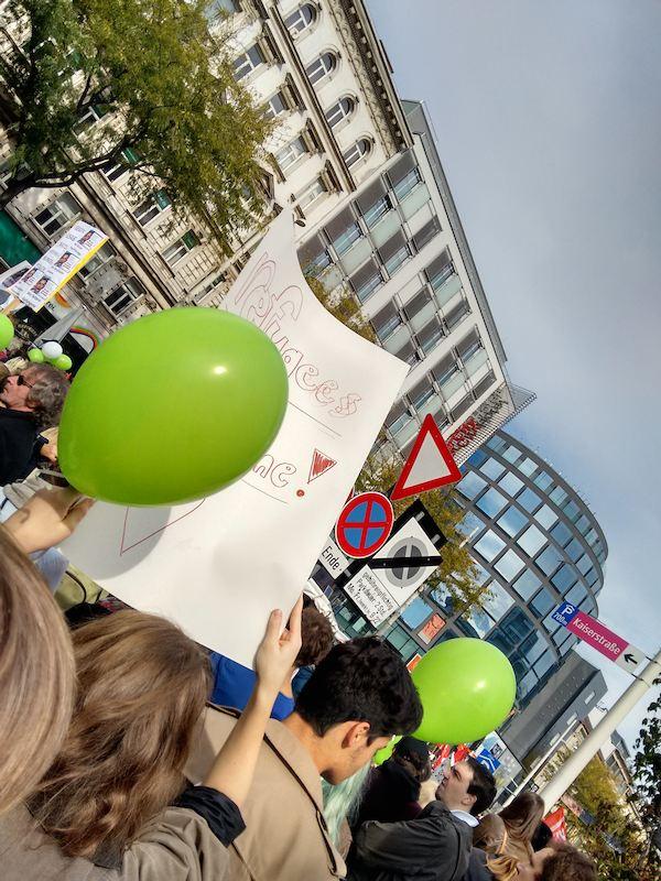Solidaritäts-Demo und -Konzert