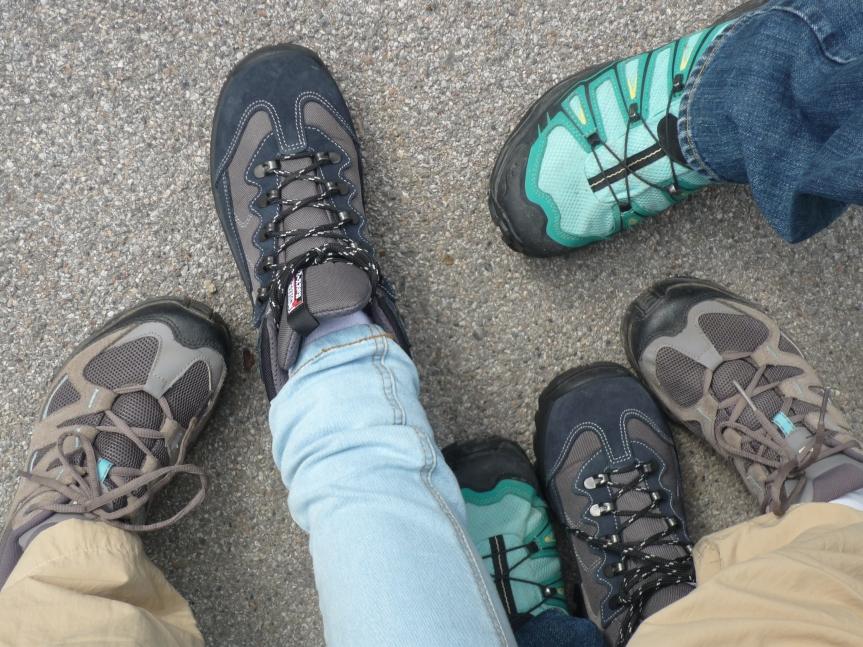 Let´s Change our Shoes – GrazerInnen sammelnSchritte