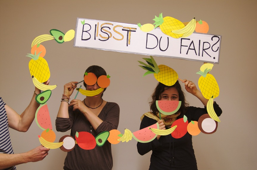"Aktionsvorbereitung zu ""Make Fruit Fair!"""