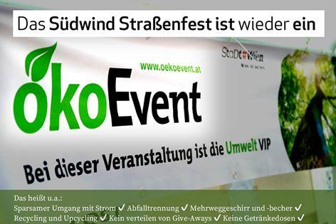 Das Südwind Straßenfest ist wieder ein ÖKO-Event.