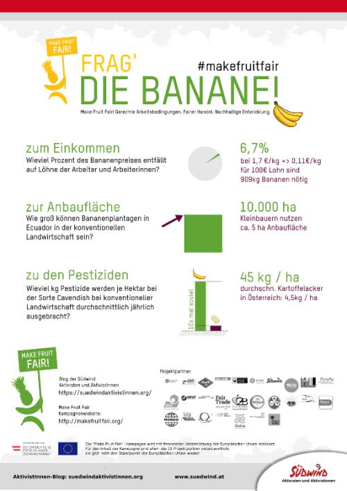 Make Fruit Fair - Informationen zum Bananenanbau