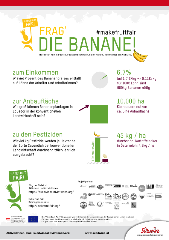 Make Fruit Fair - Informationen zum Bananenanbau