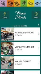 Wiener Märkte - App der Stadt Wien