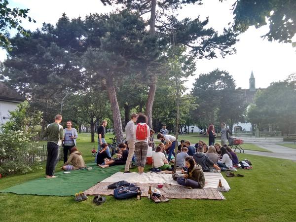 Südwind Straßenfest 2016 - Picknick