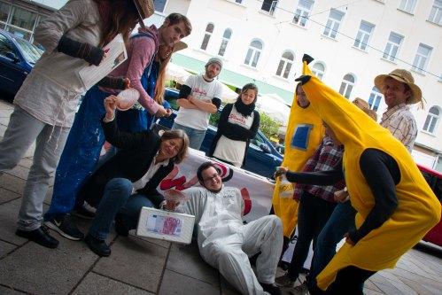 Bananen und ArbeiterInnen gewinnen