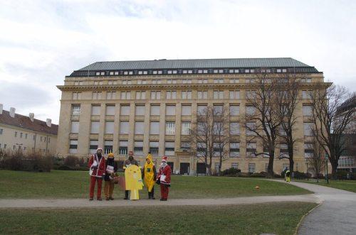 SUPPLY CHA!NGE – Make Supermarkets Fair: vor der Österreichischen Nationalbank
