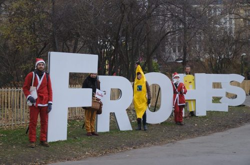 SUPPLY CHA!NGE – Make Supermarkets Fair: am Rathausplatz