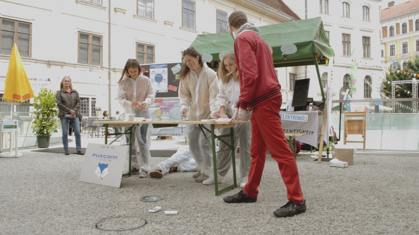 "Südwind Steiermark mit ""Faire Elektronik"" am GrazerUmweltzirkus!"