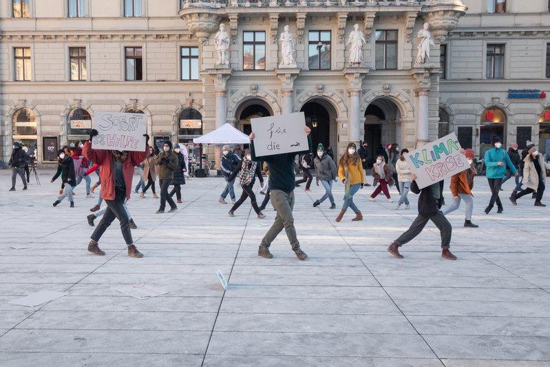 Tanzen für Klimagerechtigkeit